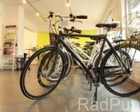 Verkaufsraum mit Marken-Fahrrädern
