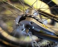 Detailaufnahme Fahrrad