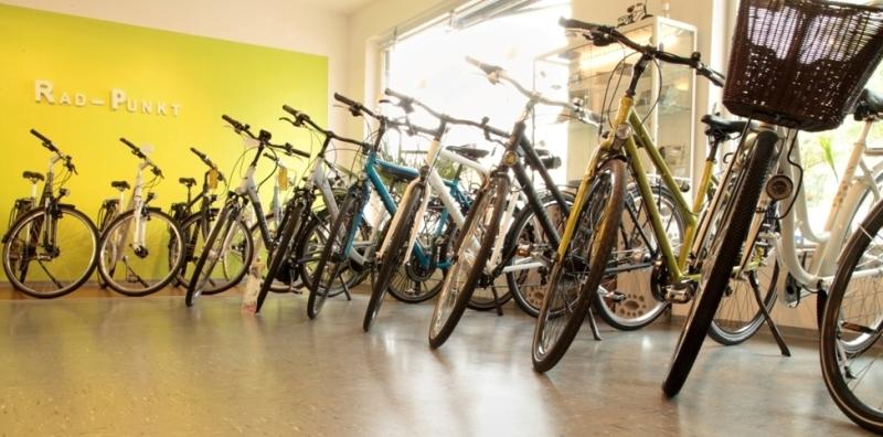 Rad-Punkt Fahrradgeschäft in Karlsruhe Mühlburg